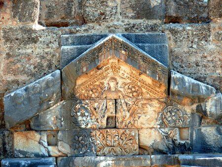 monument of Dionysus - Aspendos, Turkey