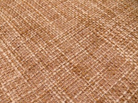 texture of a burlap cloth Stock Photo