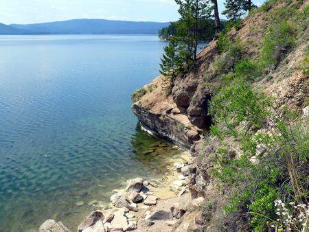 Lake Turgoyak in Chelyabinsk area