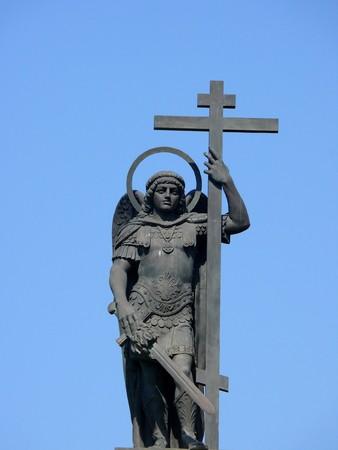 michele: Monumento di Michael Archangel nel centro di Sochi