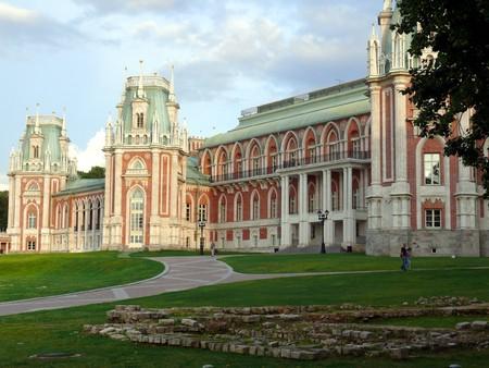 Russian national architecture ensemble Tsaritsino, Moscow