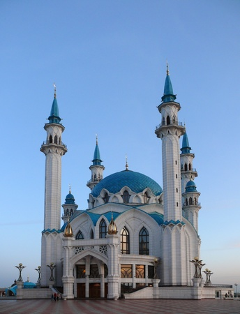 Mosque Kul Sharif in Kazan Kremlin. Russia