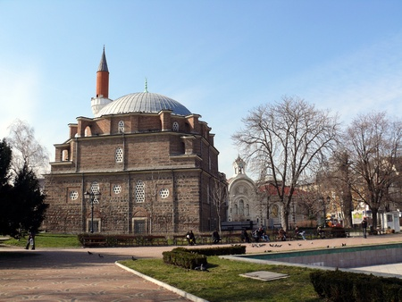 Banya Bashi Mosque in Sofia. Bulgaria
