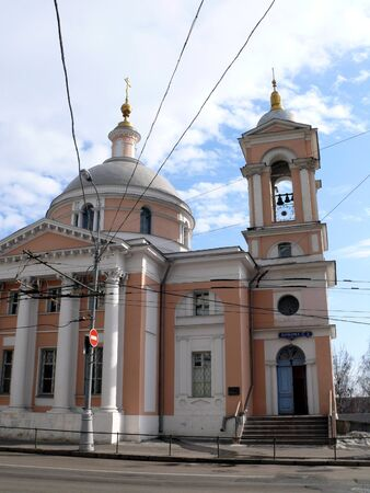 Great-marture Barbara temple in Moscow, Russia