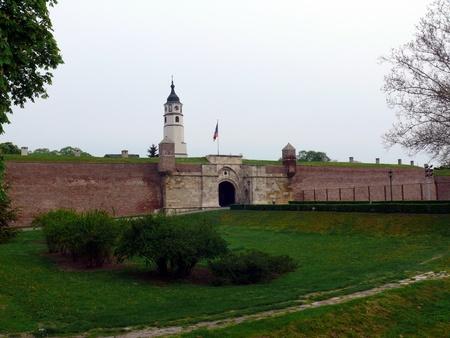 Fortress Kalemegdan in Belgrade, Serbia