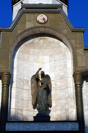 Chapel ok Kazan godmother in Moscow