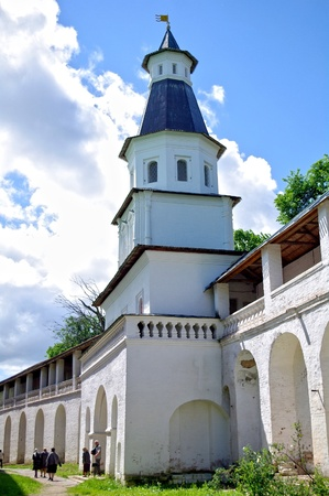 tower in New Jerusalem monastery - Russia Stock Photo