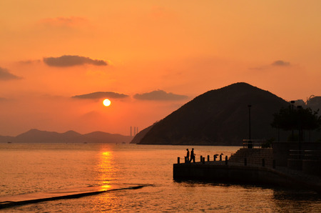 repulse: Sundown at Repulse Bay Hong Kong