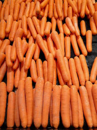 Fresh organic carrot, carrots are good for health.