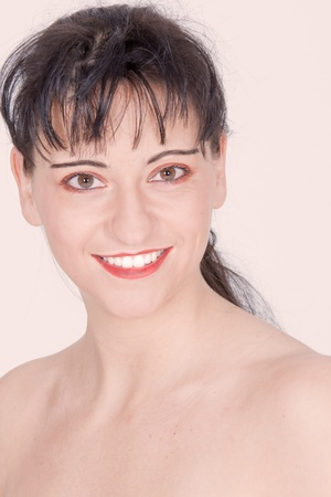 Portrait of a dark-haired beauty Stock Photo - 10486638