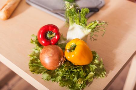 Fresh vegetable for a tasty salad