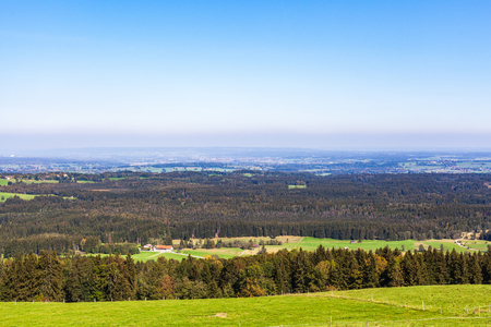 View from Geigersau over the F?nfseenland