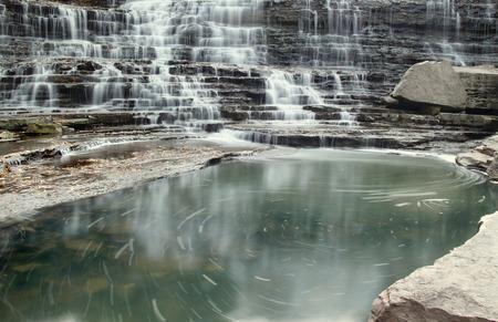 Waterfall Swirl