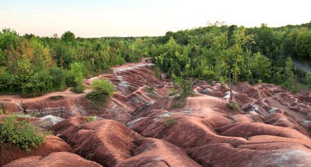 geological feature: Badlands Stock Photo