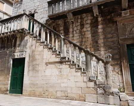 Ancient croatian castle