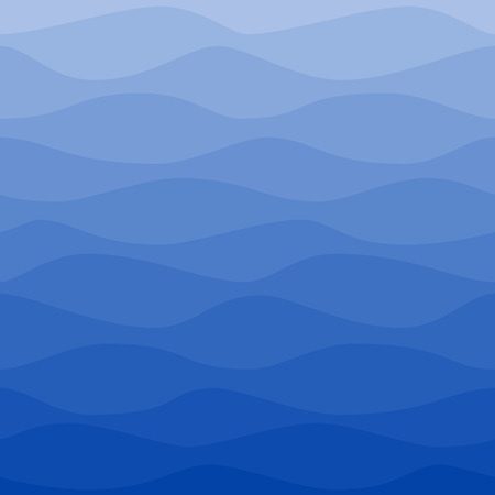 gradual: Seamless nautical pattern. Gradual color waves. Graphic design element for web sites, stationary printables, fabric, scrapbooking etc.
