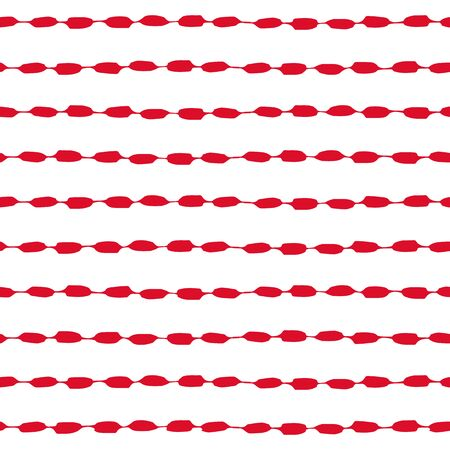 printables: Seamless geometric pattern. painted ink in red and white. Graphic design element for web sites, stationary printables, fabric, scrapbooking etc.