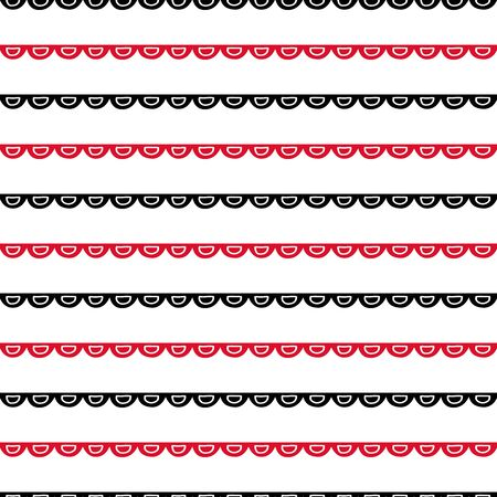 printables: Seamless geometric pattern. Hand painted doodles in black and red. Graphic design element for web sites, stationary printables, fabric, scrapbooking etc.