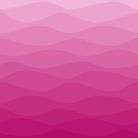 gradual: Gradual wavy pink background Illustration