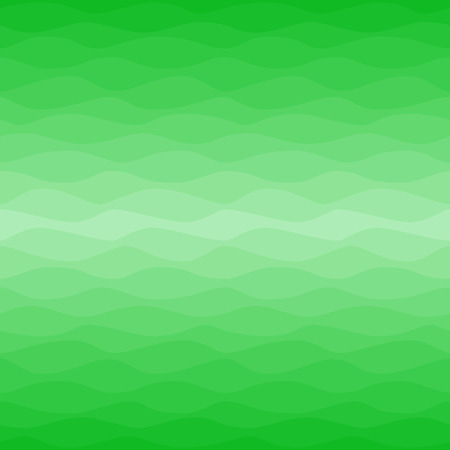 Seamless green eco pattern. Gradual color waves background. Graphic design element for web sites, stationary printables, fabric, scrapbooking, corporate identity, ecology concept etc.