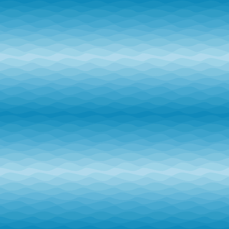Seamless nautical ombre pattern. Gradual color waves background. Vector illustration