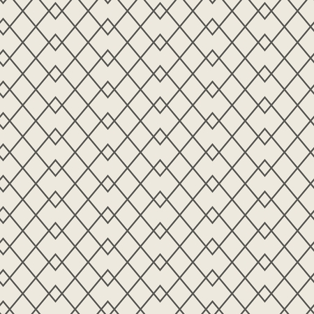Seamless linear weaving pattern. Modern texture with geometric zigzag. Vector illustration