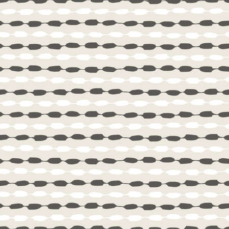 Seamless geometric pattern with hand painted stripes 向量圖像