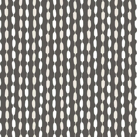 Seamless geometric pattern with hand painted stripes 矢量图像
