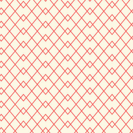 Seamless grid pattern. Thin line wallpaper 矢量图像