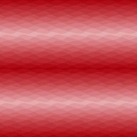 Gradual wavy red background, seamless vector pattern