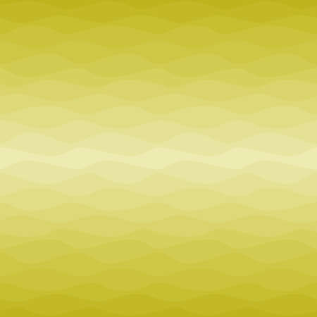 Gradual wavy ombre yellow background