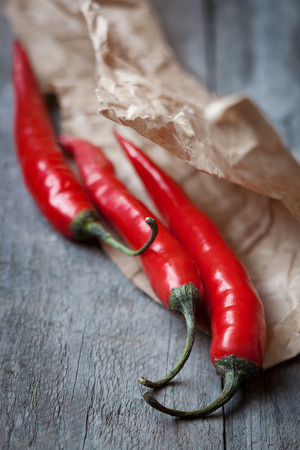Red chili pepper,shallow depth of field