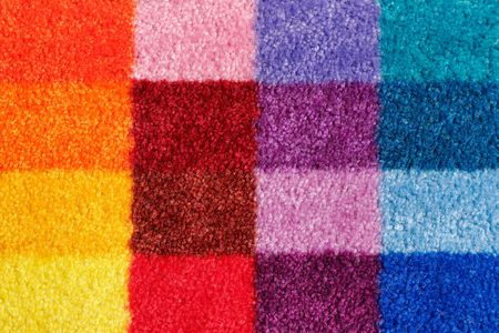 carpet and flooring: Colored carpet Stock Photo