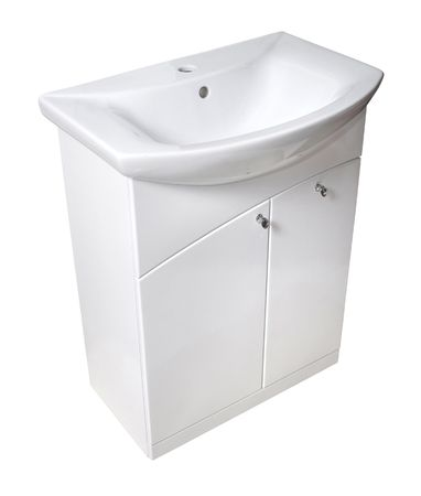 Basin and cabinet Imagens