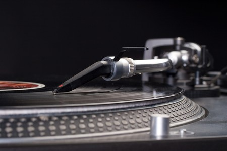 Direct drive turntable system photo