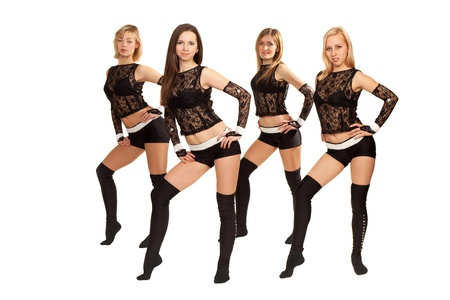 Image of a dance group consisting of four girls
