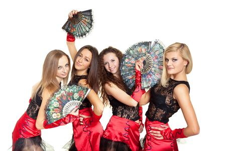 Dance group Stock Photo - 11958877