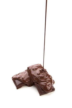 Melted chocolate Stock Photo - 15996458