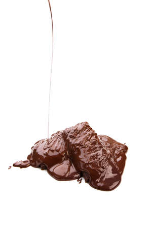 Melted chocolate Stock Photo - 15996454