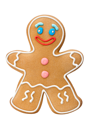 ginger bread man: Gingerbread cookie man