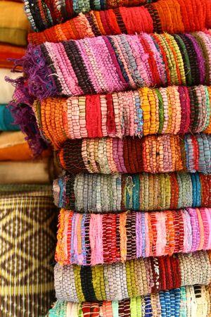 colurfull rugs Stock Photo