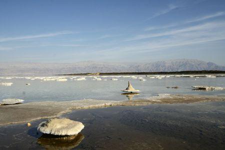 salt islands, dead sea