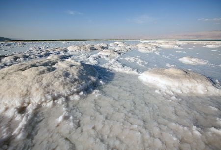 salt of Dead sea Israel Stock Photo - 3018872