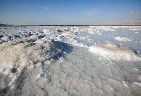 salt of Dead sea Israel