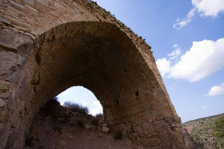 fragment of ancient building, north of Israel Stock Photo - 5622176