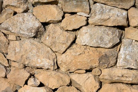 fragment of the wall, texture of stones Stock Photo - 7820507