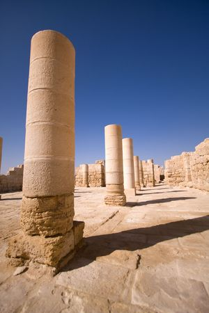 fragment of ancient city, south of Israel Stock Photo - 7991814