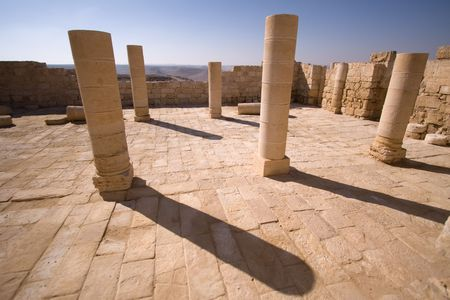 fragment of ancient city, south of Israel Stock Photo - 7991819