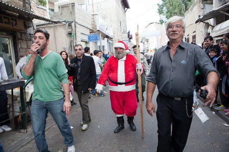 christian festival:  A festival that takes place every year in December in Wadi Nisnas, Haifa, on the occasion of the Christian Christmas and the Jewish Hanukkah.