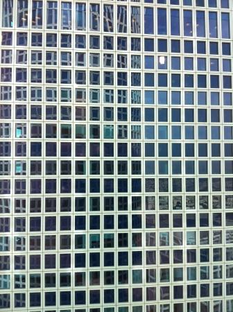 parallelism: Skyscraper in the center of TelAviv   Stock Photo